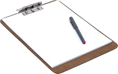 Writing a Mission Statement Clipboard